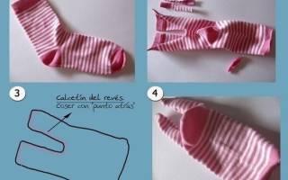 Игрушки из носков своими руками: схемы и мастер-класс по мягким поделкам