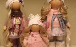 Кукла снежка: мастер-класс и выкройка одежды в натуральную величину