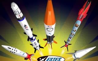 Ракета своими руками: варианты из пластилина, из коробки и из конфет