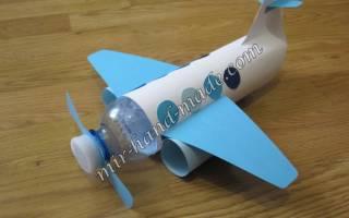 Самолет своими руками из подручных материалов: схема и фото-подборка