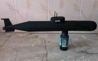 Подводная лодка своими руками: схема с видео