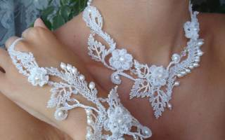 Свадебное колье из бисера: мастер класс с пошаговыми фото, схемы и видео-уроки