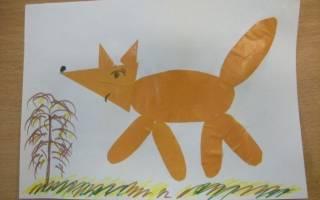 Аппликация из геометрических фигур: в в детском саду и мастер класс для дошкольников