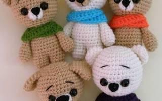Вязаные игрушки своими руками: схемы вязания крючком и спицами