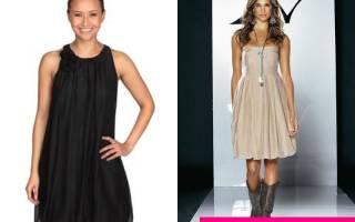 Платье баллон: фото моделей, как сделать его своими руками
