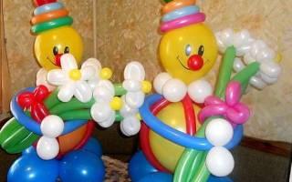 Клоун из шаров: пошаговая инструкция как сделать своими руками