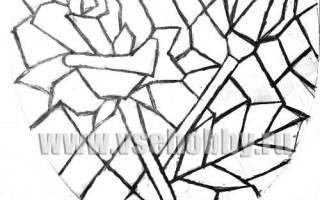 Мозаика рисунок: как нарисовать своими руками для ванной комнаты