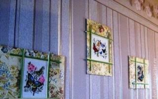 Как оформить вышивку: делаем бисером, в багет и в открытку