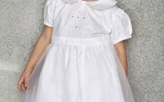 Платье для крещения: для девочки с фото-подборкой