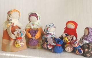 Мастер класс по кукле оберегу своими руками: берегиня, желанница и другие куклы из ткани и ниток