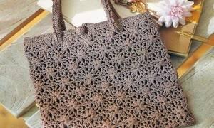 Вязаные сумки крючком со схемами: мастер класс по изготовлению своими руками