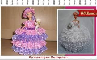 Кукла шкатулка своими руками: мастер класс изготовления из бутылок