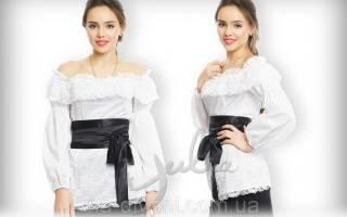 Блуза крестьянка: выкройка и мастер-класс по пошиву с видео