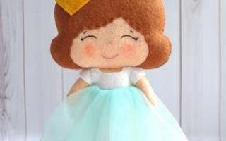 Выкройки кукол из фетра: мастер класс своими руками