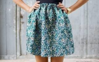Сшить юбку своими руками: легкую и тёплую, выкройки, видео и фото