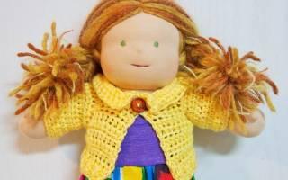 Как легко и просто связать крючком кофточку для куклы: мастер-классы, схемы и фото