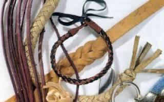 Браслет из кожаного шнура: мастер класс для начинающих рукодельниц