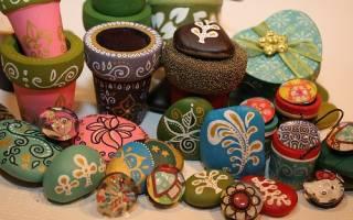 Роспись камней акриловыми красками: мастер класс для начинающих мастеров своими руками