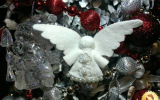 Ангелочек из ватных дисков: шаблоны и мастер-класс поэтапно