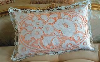 Вышивка ришелье для начинающих пошагово: техника для новичков