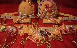 Восточные костюмы для девочек своими руками: делаем для танца живота