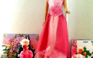 Выкройки одежды для кукол барби, коннэ и беби бон; пошаговая инструкция