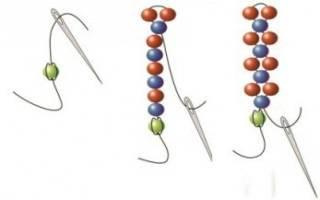 Плетение из бисера для начинающих: схемы, мозаичное и кирпичное плетение