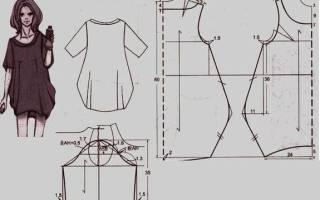Выкройки бохо для худых и полных женщин с подробными инструкциями