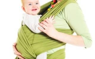 Как завязать слинг-шарф: инструкция для мам с фото и видео-советами