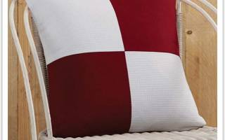 Подушка из лоскутков своими руками: мастер класс из различных тканей (с фото и видео)
