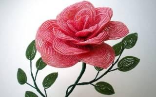 Цветочные композиции из бисера: мастер класс и схемы плетения