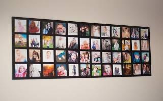 Коллаж из фотографии своими руками: делаем на годовщину свадьбы и на день рождения подруге