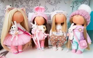 Куклы из ткани своими руками: мастер класс как сделать своими руками