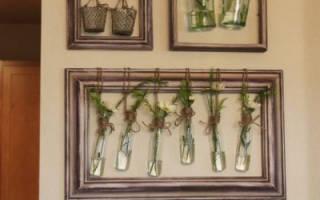 Декор своими руками для дома из подручных материалов: мастер класс с фото и картины из бумаги