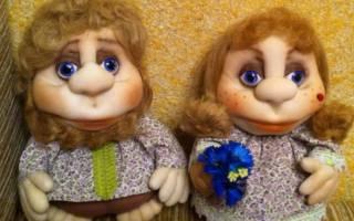 Чулочная кукла своими руками: мастер класс с фото
