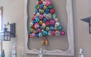 Новогодние елочки своими руками: мастер класс из разных материалов