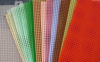 Канва для вышивания: фото в статье