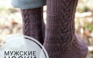 Мужские носки спицами: схемы вязания с фото и видео-уроками пошагово