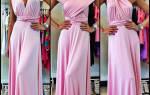 Выкройка платья трансформер: как сшить его своими руками
