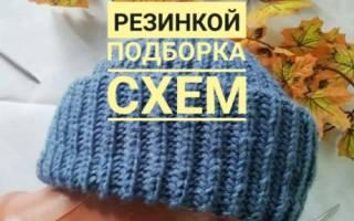 Как связать шапку бини: мастер класс как сделать вещь английской резинкой