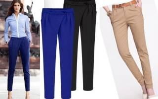 Выкройка брюк дудочек: женские варианты для фото