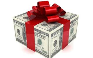 Подарки из денег: варианты на день рождения и на годовщину свадьбы