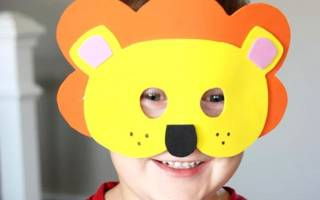 Как сделать маски своими руками: шаблоны из бумаги и схемы