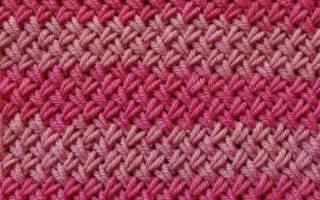 Узор плетенка спицами: схема, фото, видео и описание прилагаются