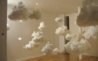 Облака из ваты своими руками: мастер класс для начинающих с пошаговыми фото и видео