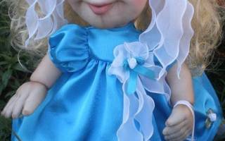 Самодельная кукла своими руками: варианты из ткани, из ниток и из колготок
