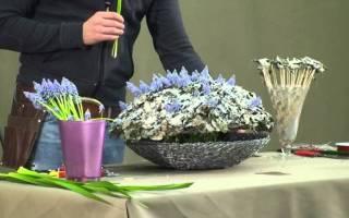Флористика: мастер класс по теме шелковая и полимерная флористика и составление букетов пошагово