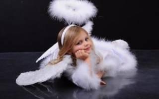 Костюм ангела для девочки своими руками: фото-подборка прилагается