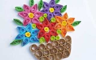 Квиллинг картины: цветы, букеты для начинающих