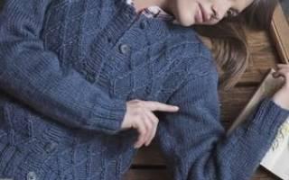 Кофта на пуговицах спицами: делаем для женщин с фото-подборкой
